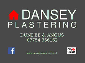 DANSEY PLASTERING - DUNDEE & ANGUS - FREE QUOTATIONS