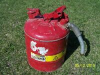 5 gal safety fuel can (steel)