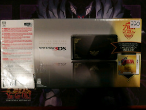 Nintendo 3DS  limited Ocarina of time edition.