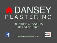 DANSEY PLASTERING - DUNDEE & ANGUS - CERTIFIED PLASTERER