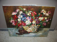 20x24 Textured Oil Painting on Stretched Canvas by Arturo