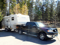 2007 Ford F-150 XLT Pickup Truck & 2003 Springdale Fifth Wheel