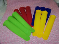 SILICONE ICE POP MAKERS