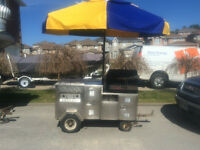 2 Hot Dog Carts For Sale