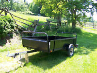 Manufactured Utility Trailer SOLD