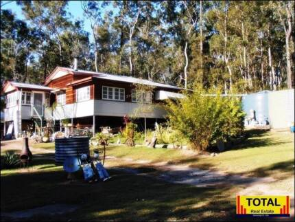 TOTAL 8081m2, Classic Queenslander, Creek, - Eco & Private. Glenwood Fraser Coast Preview