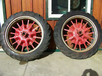 Farmall F-12 Rear Wheels