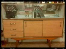 Buffet cabinet with sliding glass Burwood Burwood Area Preview