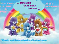 Mummies CareBear Daycare>!!----AVAILABLE ANYTIME-----