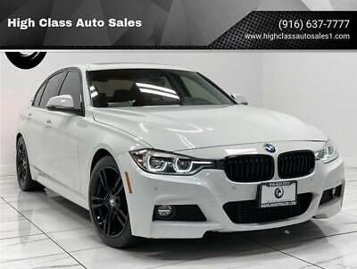 2017 BMW 3-Series 330e iPerformance 4dr Sedan 2017 BMW 3 Series 330e iPerformance 4dr Sedan 56202 Miles White Sedan 2.0L I4 Tu