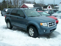 2012 Ford Escape XLT AWD $14,500.00 Calls Only 727-5344