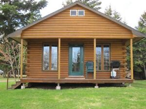 1 Bdrm Log Chalet On The Water In Tatamagouche, NS For Sale