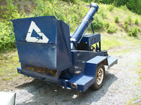 Older Industrial Chipper
