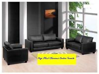 Weekend Sale -Recliner Sofa, 3 Piece Leather Sofa Set ST