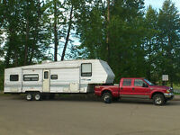 2001 Ford F-350 LARIAT Pickup Truck and 30ft SALEM 5th Wheel