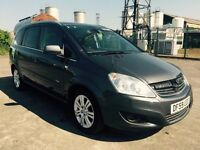 2010 59 VAUXHALL ZAFIRA 1.6 *** 7 SEATER *** £595 OF SCREEN PRICE TODAY !***