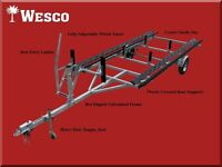 2015 Wesco Pontoon Boat Trailer - High Quality !