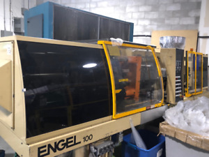 Engel 100 Ton Injection Molding Machine