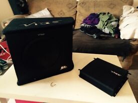 Vibe amp and subwoofer