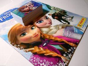 Panini Disney Frozen Complete Set 192 Stickers + Empty Album