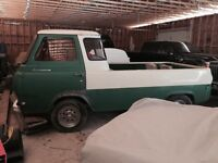 1963 Ford ecoline pickup deluxe edition.