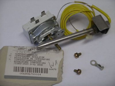Temperaturregler 718RU-3589 0-92 Grad Miele Waschmaschine NEU Art.-Nr. 68067
