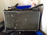 S2000 radiator with hoses