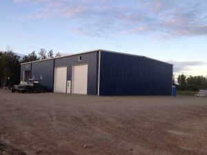 LOW PRICE - Steel Buildings For Sale in 100 Mile House