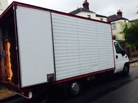 Man and van/garden clearance house removals biggest van in town