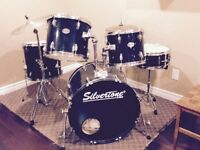 silvertone pro drumset for sale