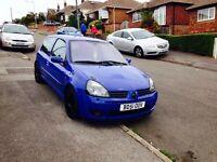 Renault Clio Sport 172 cams etc