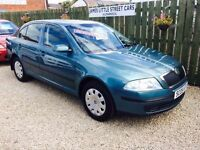 Skoda Octavia ambiente 1.6 05 reg 1 year mot luxury car excellent condition