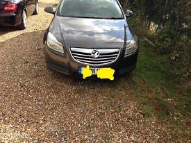 Vauxhall insignia 1.6 petrol manual