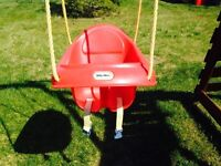 Little tikes baby infant seated swing