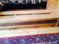 Moroccan wooden sedari frame!