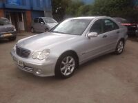 2005 MERCEDES C220 CDI CLASSIC SE AUTO # 12 MONTHS MOT # GOOD RUNNER # CAT C