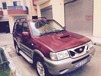 Nissan terrano2 left hand drive 2.7 7 seater in Albania Tr