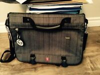 Swiss lap top bag and clothes