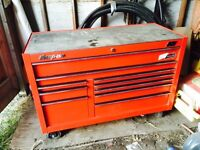 Reduced snap on tool box & tools