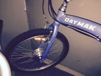 Electric powered bike E- bike made by DayMak