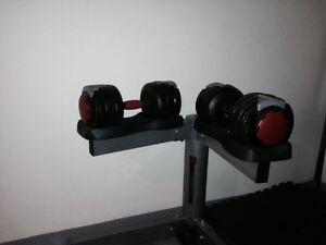 Dumbells Ajustables 60 LBS