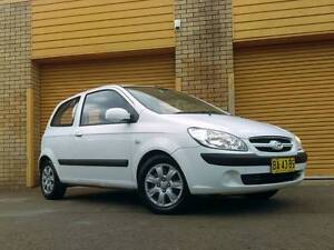 2007 HYUNDAI GETZ HATCHBACK Ingleburn Campbelltown Area Preview