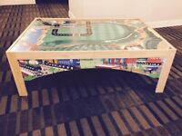 Imaginarium Train table similar to Thomas and friends Brio table