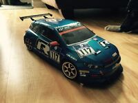 Tamiya TA05 and HPI Nitro RS4 Racer 2 - Lots of Upgrades/Parts
