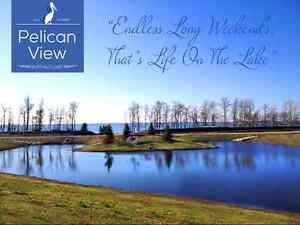 RARE Fully-Serviced LAKEFRONT & LAKE VIEW Lots - Central Alberta