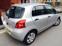2007 TOYOTA YARIS 998CC 1 OWNER F/S/H VGC