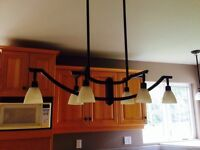 Beautiful lighting for sale as set of 3