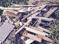 free scrap fire wood in stockwood