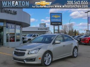 2016 Chevrolet Cruze Limited LTZ *SUNROOF-REMOTE START-HEATED LE