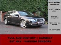 2009 09 Audi A6 2.0 TDI LIMITED EDITION, SAT NAV, LEATHER, TOW BAR, BLACK,